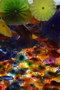 Fiori di Como, Chihuly's largest sculpture to date, located inside the Bellagio